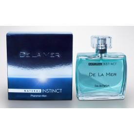 Мужская парфюмерная вода с феромонами Natural Instinct De La Mer - 100 мл.