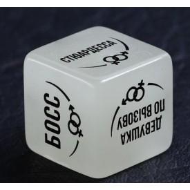 """Неоновый кубик """"Ролевые игры"""""""