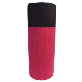 Малиново-черная подушка для любви POLI